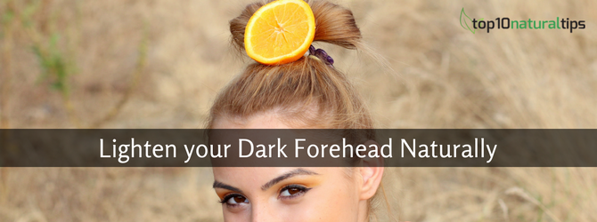 remove tan from forehead