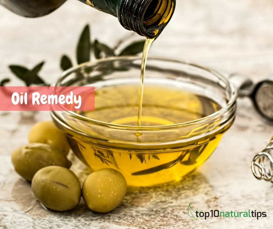 oil remedy for forehead tan removal