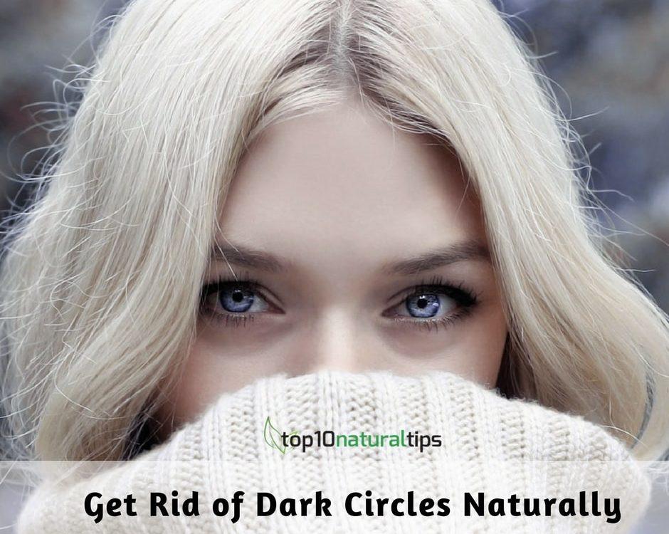 get rid of dark circle naturally