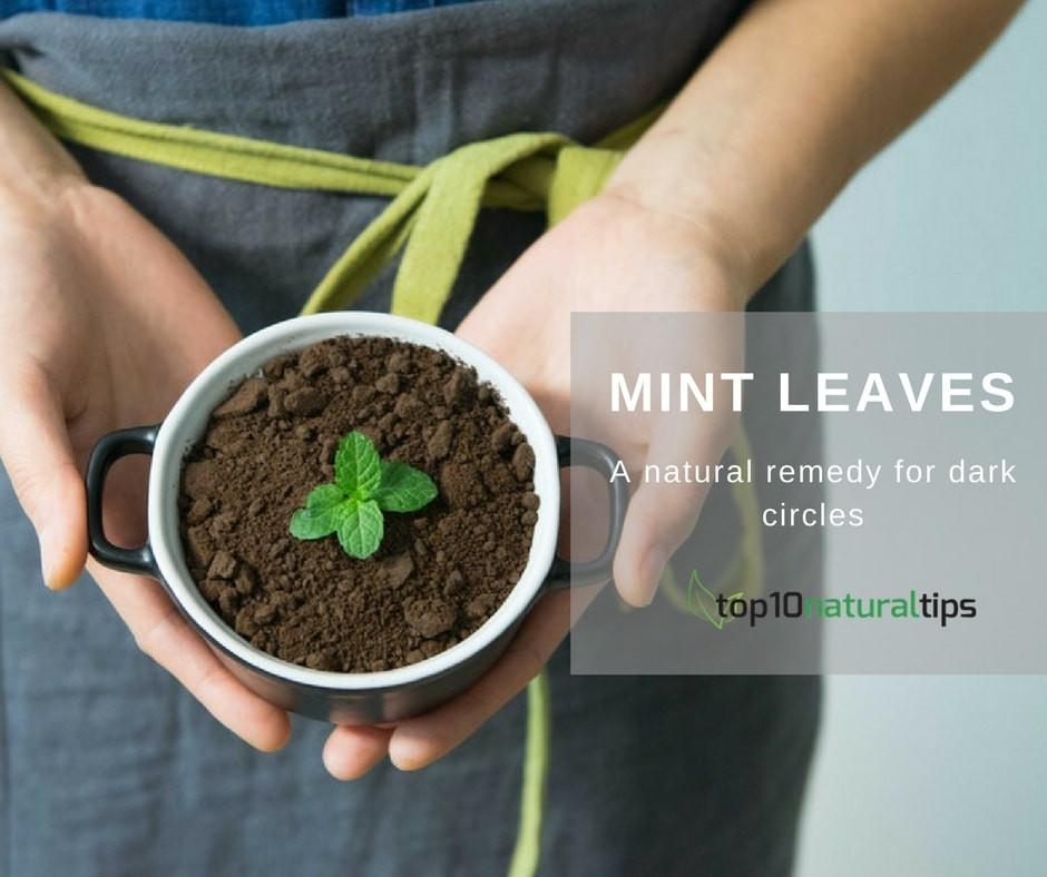 mint for dark circle