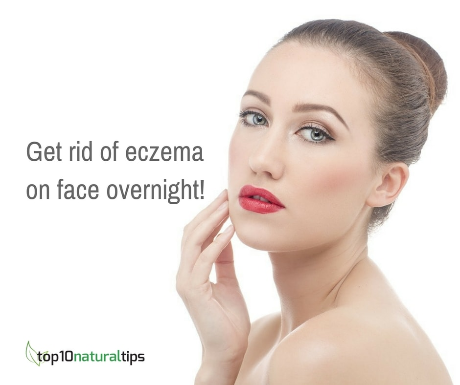get rid of eczema on face overnight