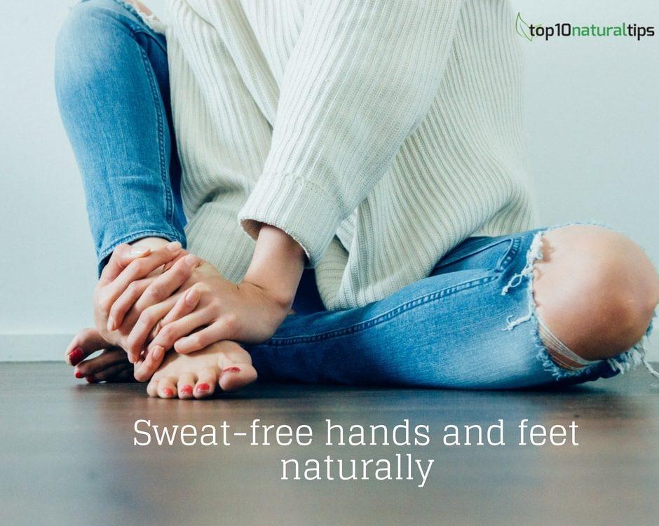 sweaty hands-feet natural remedy