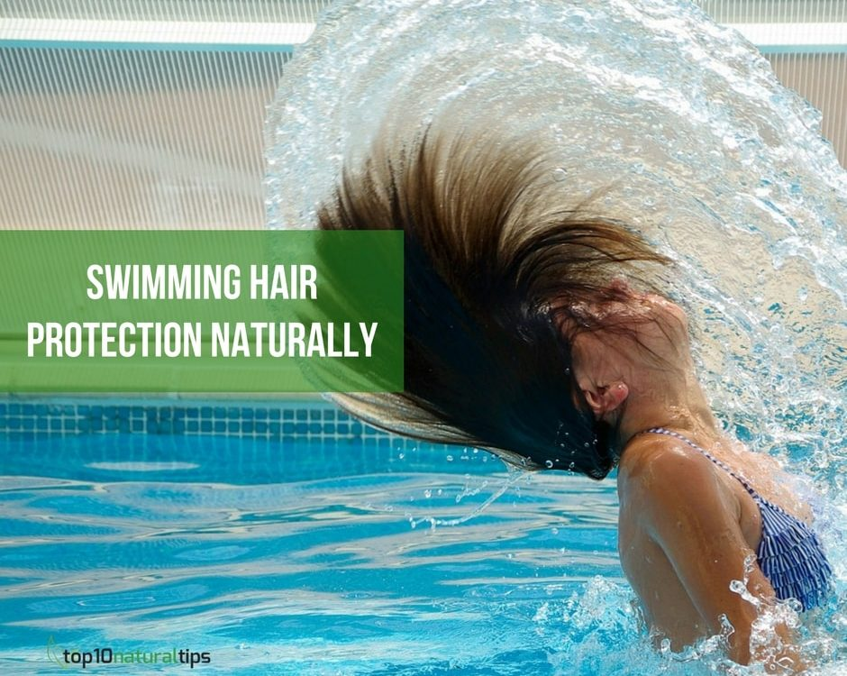 swimming hair protection naturally