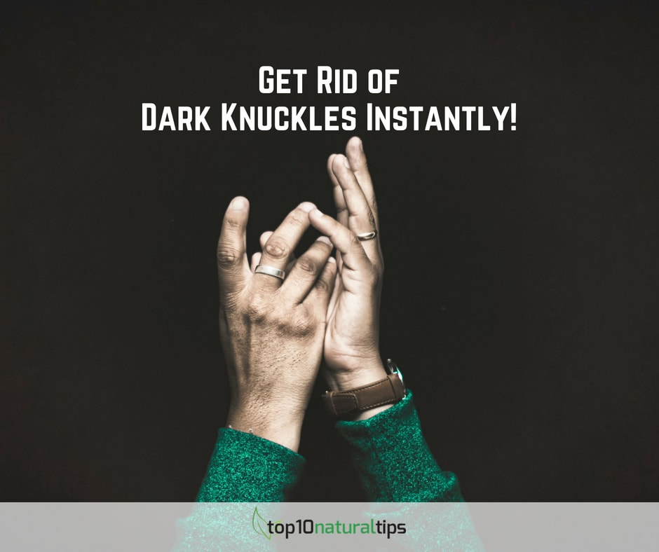 lighten dark knuckles