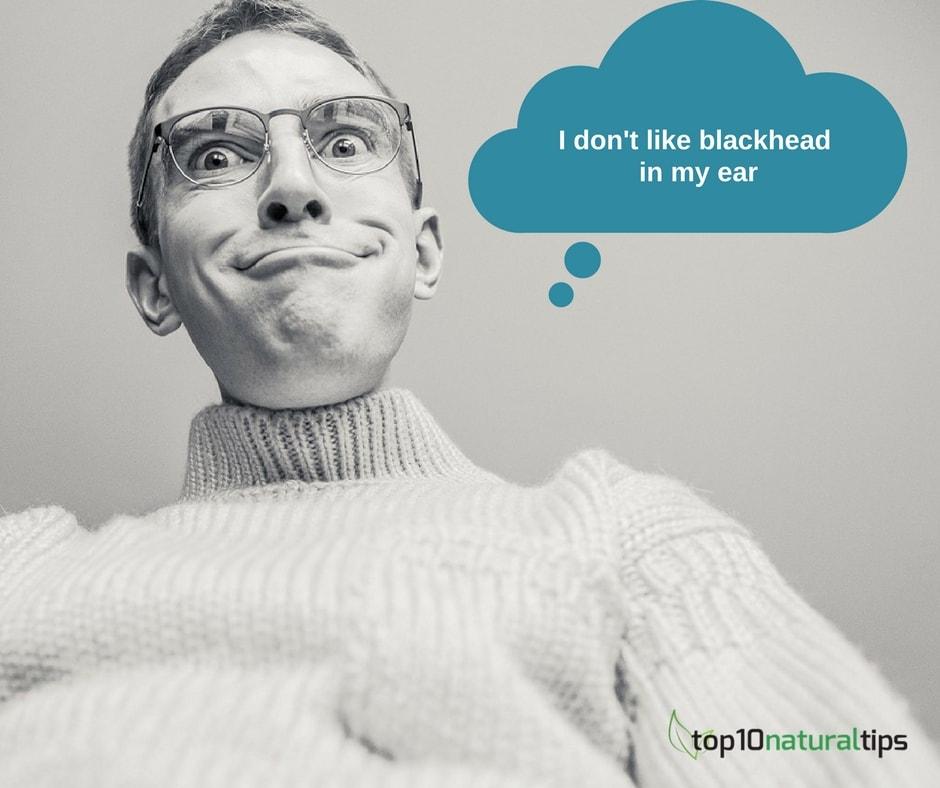 remove blackhead from ear