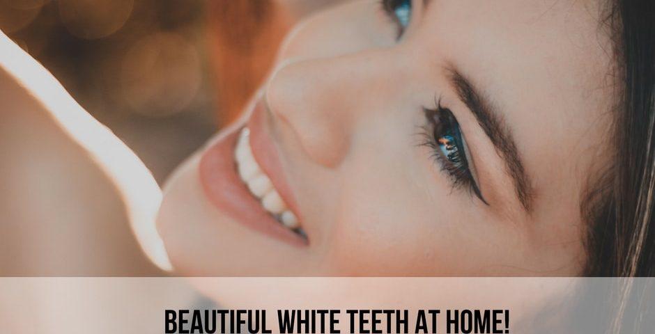 white teeth at home