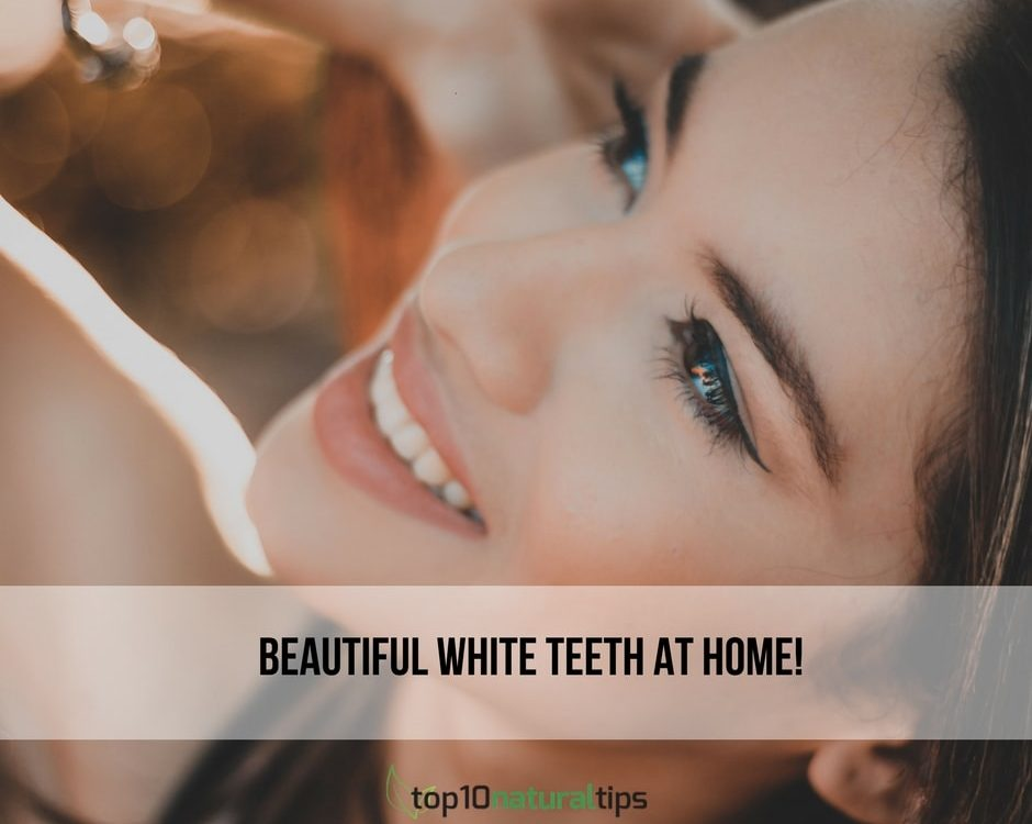 white teeth at home