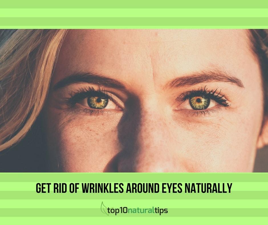 wrinkle around eyes