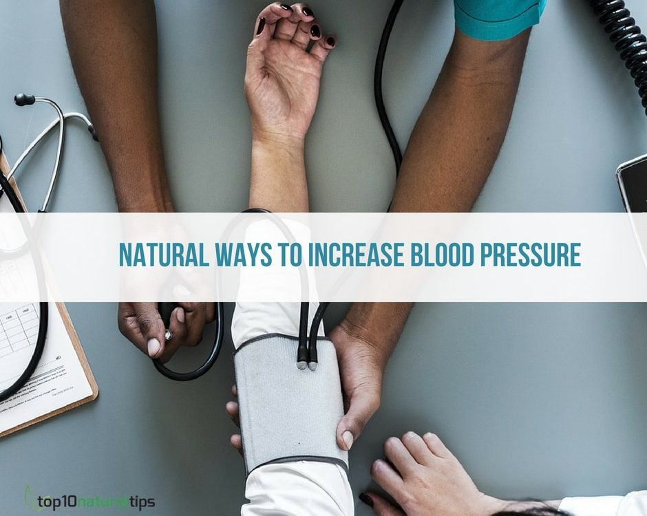 increase blood pressure naturally