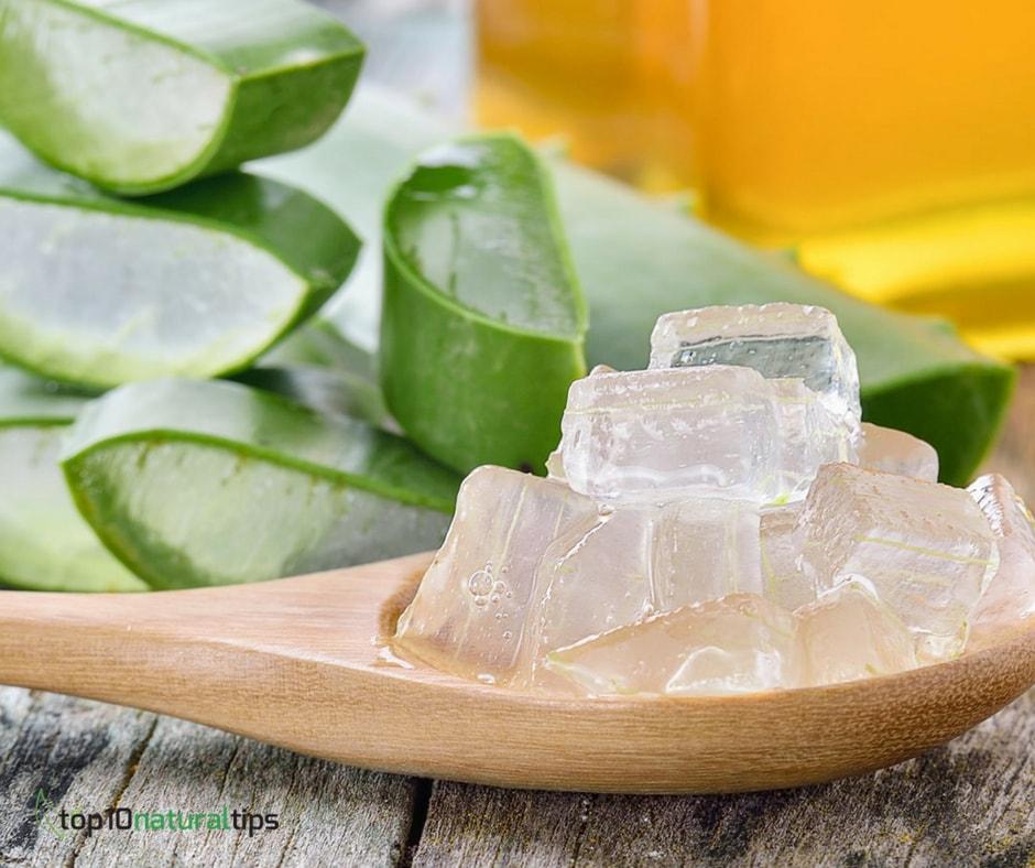 aloe gel for clear skin
