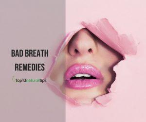 bad breath home remedy