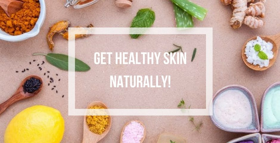 healthy skin naturally