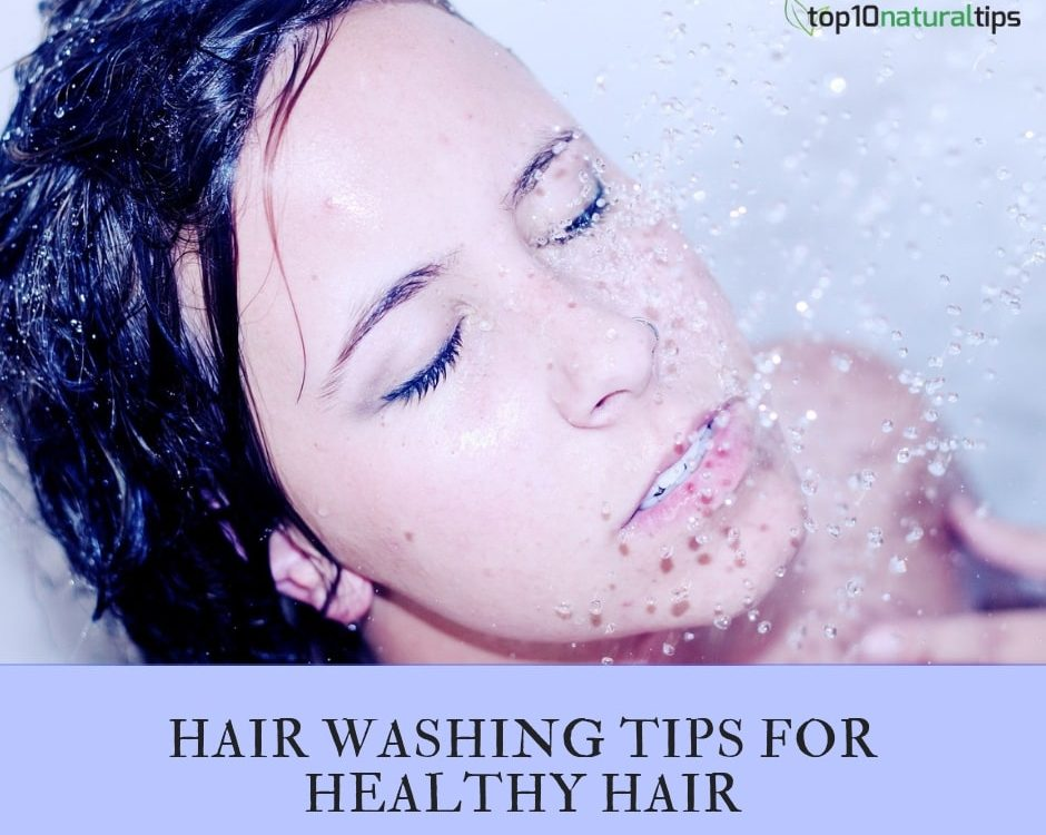 healthy hair wash tips