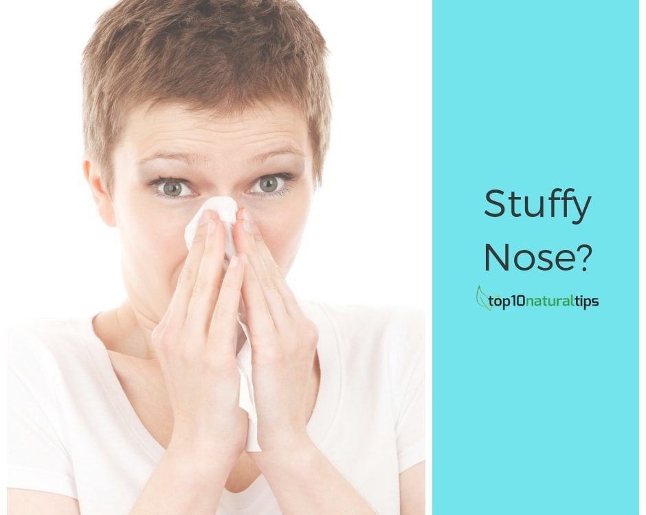 stuffy nose home remedy