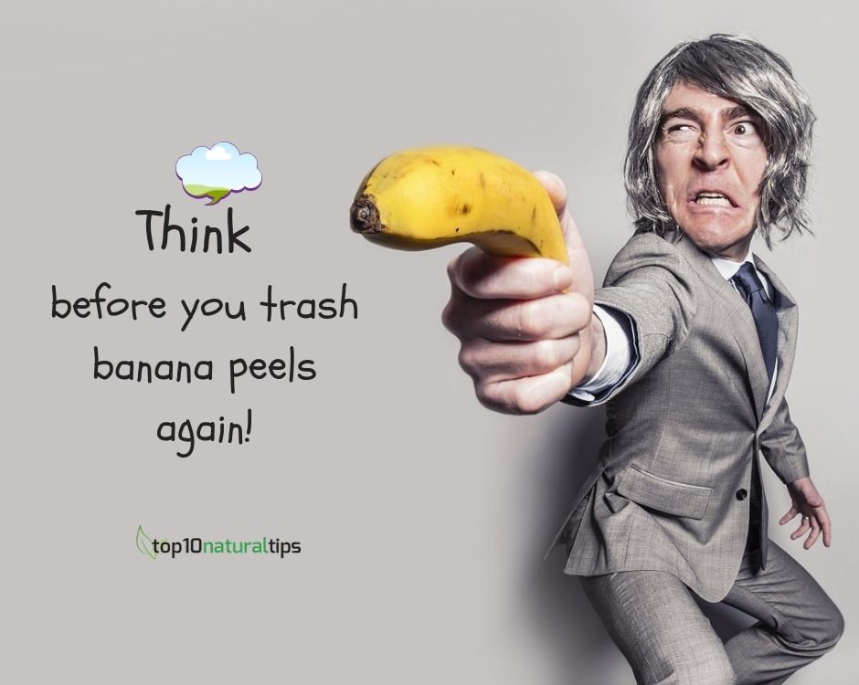 uses of banana peels