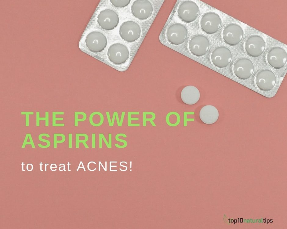 aspirins to treat acnes