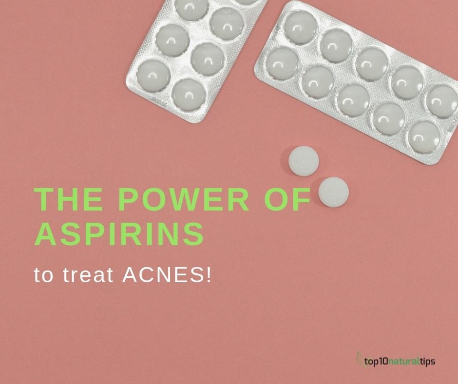 aspirins to treat acnes
