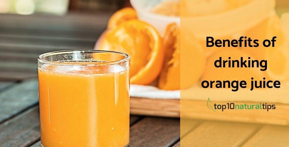 benfits of orange juice