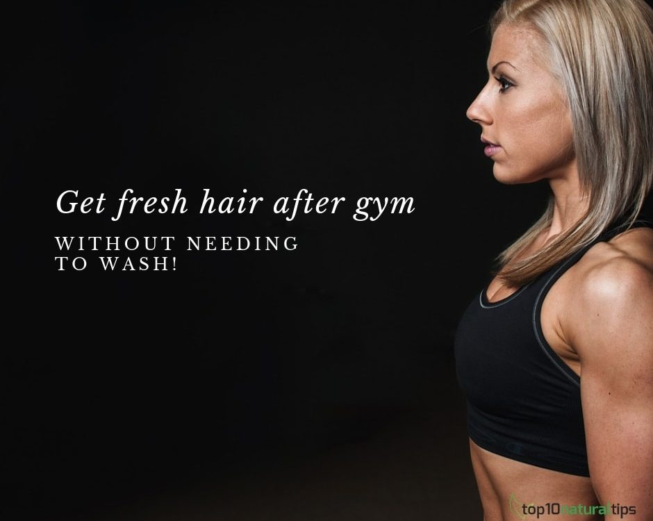 fresh hair workout