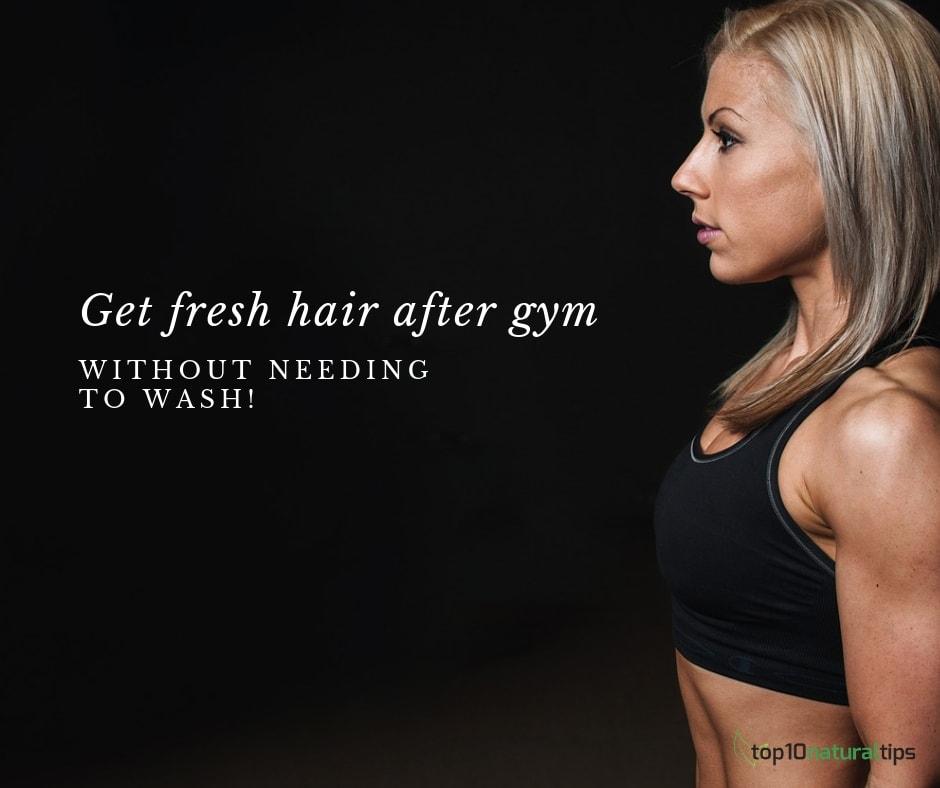fresh hair workout