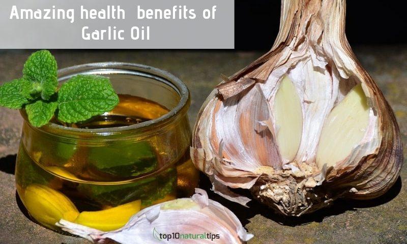 garlic oil health benefits