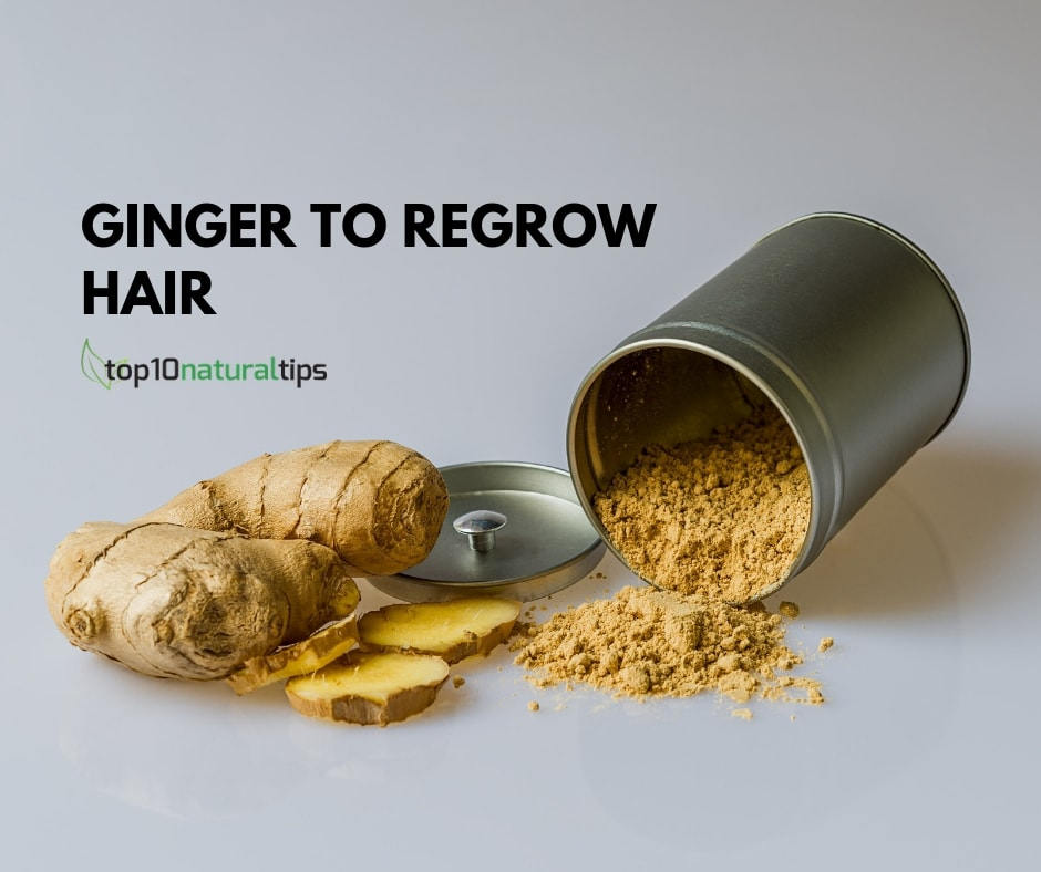 ginger to regrow hair