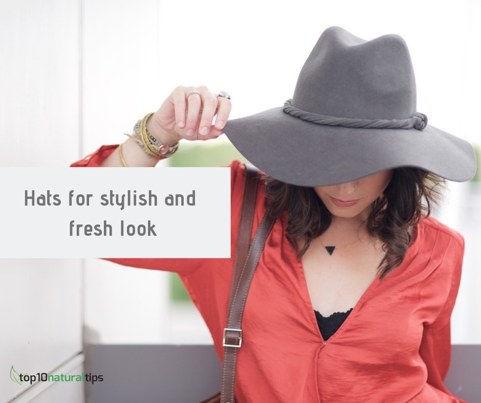 hat for oil free look