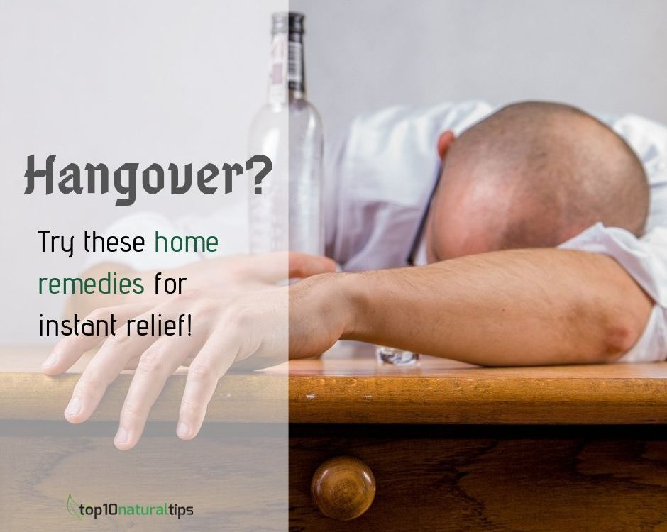 hangover natural cure