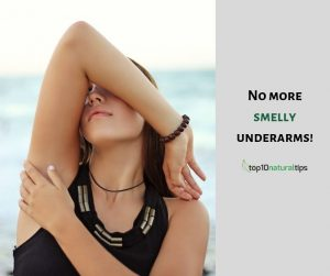 smelly underarms remedy