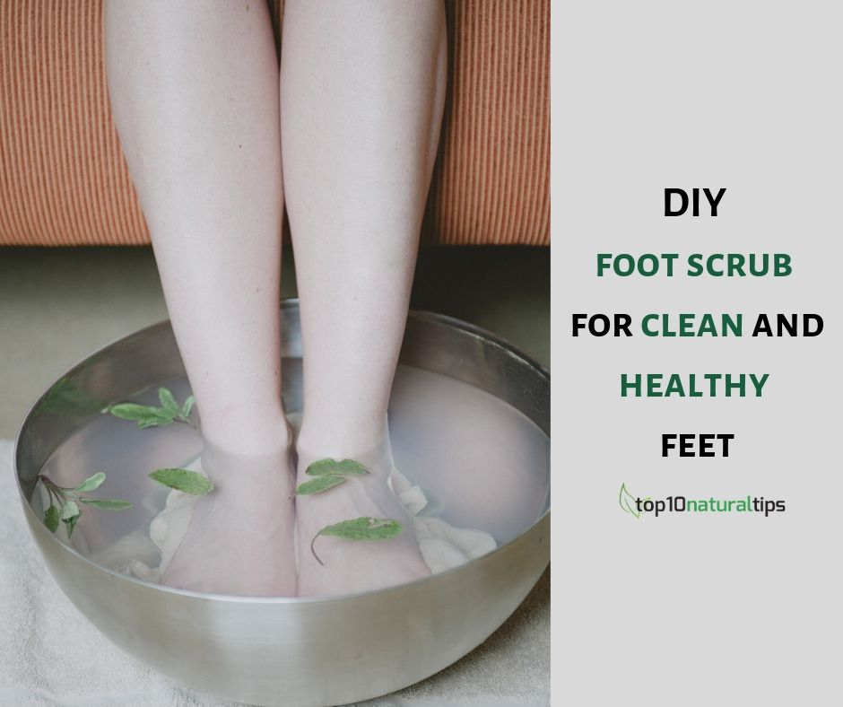 diy foot scrub