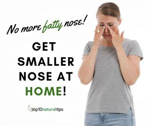 get small nose naturally